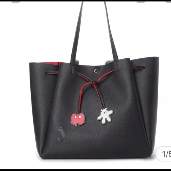 Jennifer sky Disney Bnwt black & red special tote